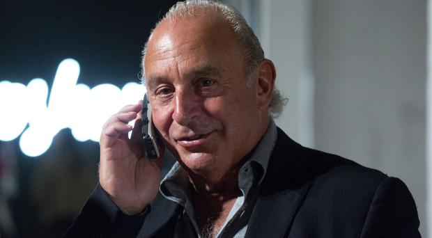Sir Philip Green (Isabel Infantes/PA)