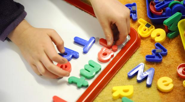 Too many children starting school lack basic language skills, Ofsted's chief warned.