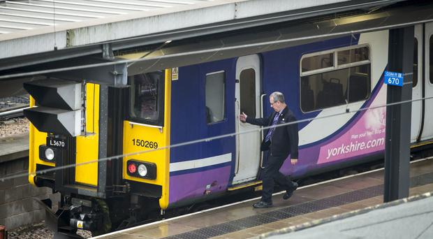 The interim timetable will reduce services on the Northern rail network (Danny Lawson/PA)