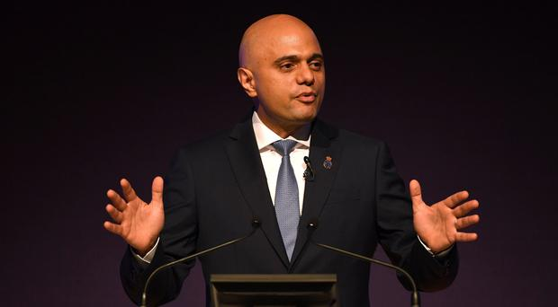 Sajid Javid replaced Amber Rudd after she resigned at the end of April (Joe Giddens/PA)