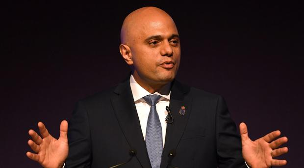 Home Secretary Sajid Javid has vowed to tackle terrorism (Joe Giddens/PA)