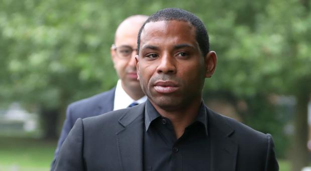 Crystal Palace captain Jason Puncheon arrives at Staines Magistrates' Court (Steve Parsons/PA)