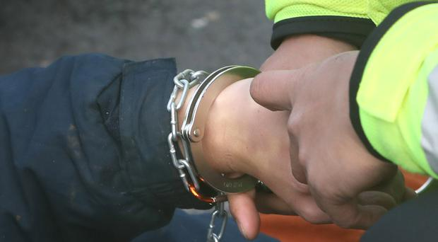 Two men were arrested in Strabane.