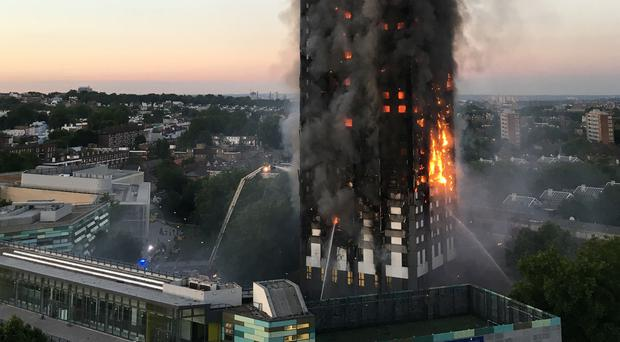 Firms who worked on the refurbishment of Grenfell Tower faced scathing criticism (Natalie Oxford/PA)