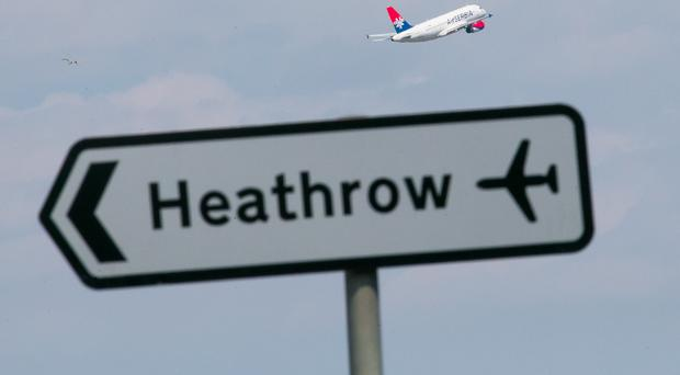 The go-ahead to a third runway at Heathrow Airport could be the catalyst for £5bn of economic growth and 5,000 new jobs in Northern Ireland, it's been claimed. (Daniel Leal-Olivas/PA)