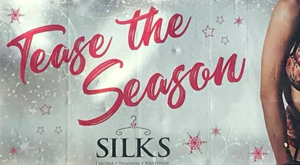 The ad for Silks. (ASA/PA)