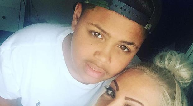 Keelan Wilson was stabbed in an attack in Wolverhampton on May 29 (Family handout/PA)