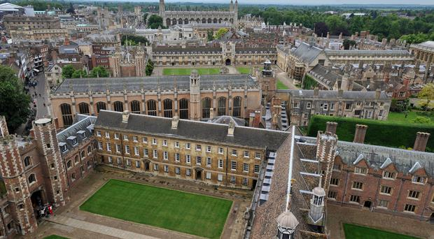 Cambridge University posted a statement on its website on Wednesday saying that the current criticism was 'wrong'