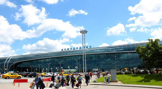 Domodedovo International Airport in Moscow (Empics/PA)