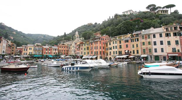 A general view of Portofino (Owen Humphreys/PA)