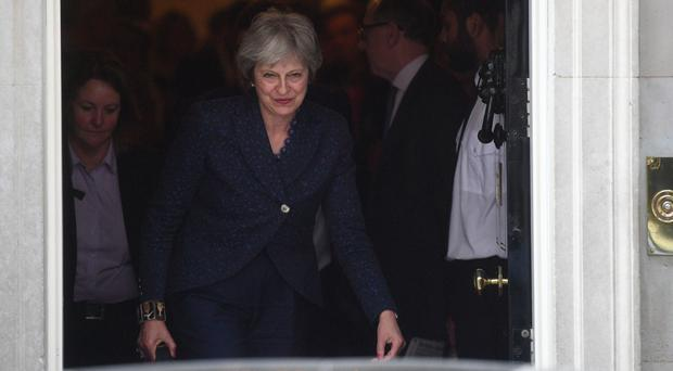 Theresa May is battling for Government unity (Victoria Jones/PA)