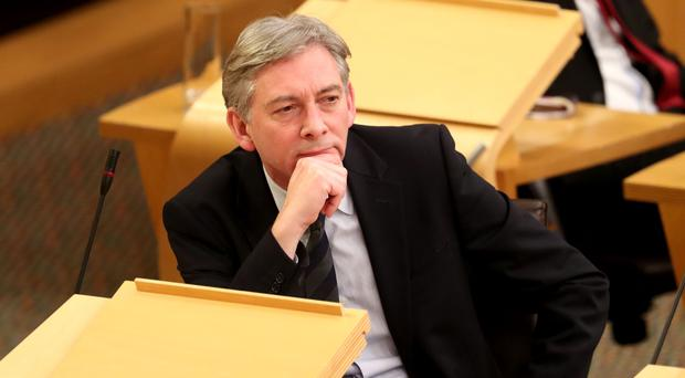 Richard Leonard called on Health Secretary Shona Robison to be replaced (Jane Barlow/PA)