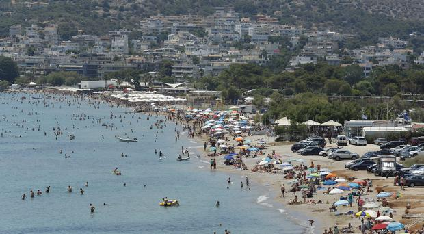Tourists cause a spike in plastic waste ending up in the Mediterranean, a report warns (Milos Bicanski/WWF/PA)