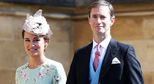 Pippa Middleton and James Matthews (Toby Melville/PA)