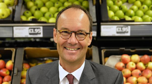 Mike Coupe has been handed a substantial pay rise (Sainsbury's/PA)