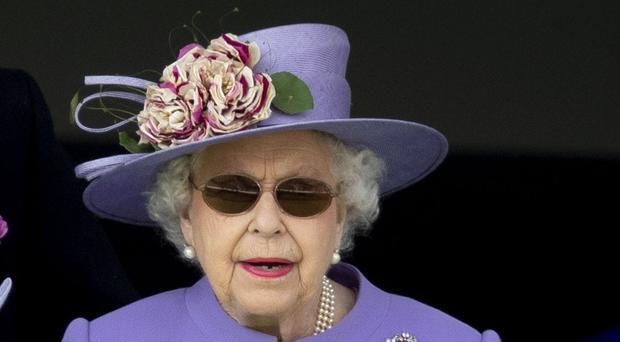 The Queen at the Epsom Derby (Steve Parsons/PA)