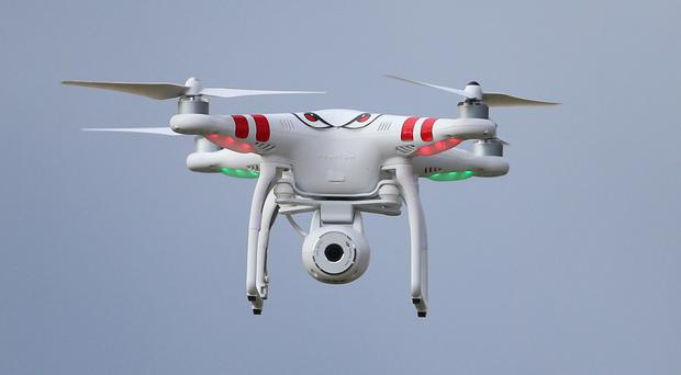 An expert has warned drones could be used by terrorists (Niall Carson/PA)