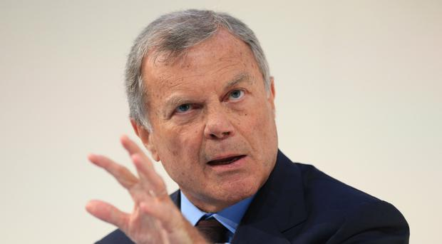 Sir Martin Sorrell has denied allegations that he paid a sex worker (Jonathan Brady/PA)