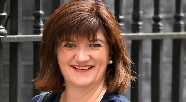 Nicky Morgan warned firms they must take extra action to ensure customers' personal information is protected (Dominic Lipinski/PA)