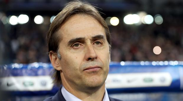 Julen Lopetegui has been sacked as Spain manager (Adam Davy/PA)