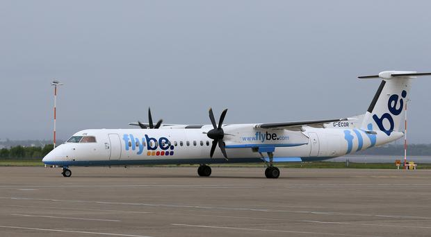 A Flybe co-pilot suffered a seizure (Tim Goode/PA)