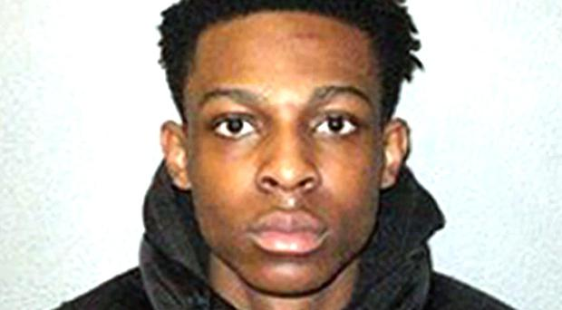 Paul Akinnuoye was jailed for 21 years for stabbing Jordan Wright to death (Metropolitan Police/PA)