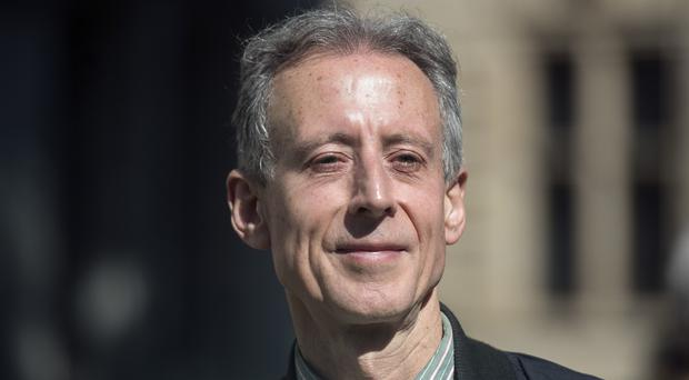Peter Tatchell has been detained (Victoria Jones/PA)