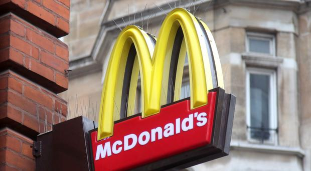 McDonald's has announced a move away from plastic straws across all UK and Ireland restaurants (Yui Mok/PA)