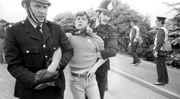 Rally to mark 34th anniversary of the 'Battle of Orgreave' (PA Archive/PA Images)