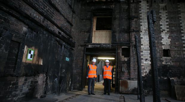 The historic Mackintosh Building was damaged by fire in 2014 (Andrew Milligan/PA)