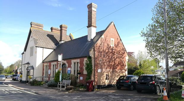 A historic railway house and ticket office in Holman Way at Topsham, near Exeter (Clive Emson Land and Proper/PA)
