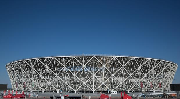 A view of Volgograd Arena (Aaron Chown/PA)
