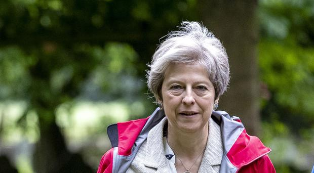 Prime Minister Theresa May has announced additional funding for the NHS (Steve Parsons/PA)