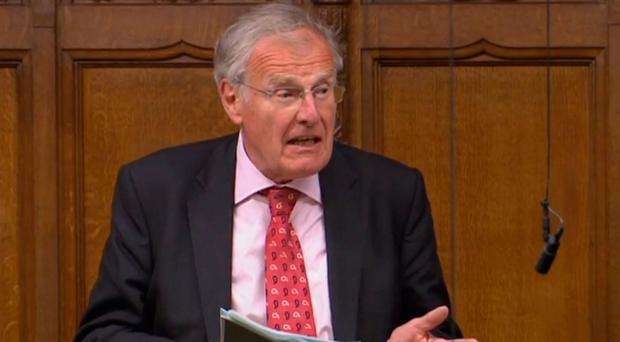 Sparked outrage: Sir Christopher Chope