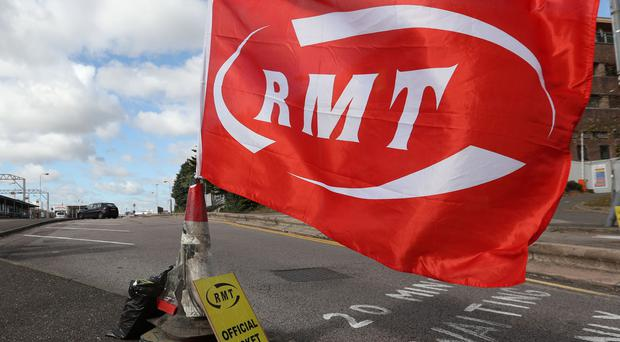 Members of the RMT union are to stage more strikes over the role of train guards (Jonathan Brady/PA)