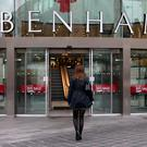 Debenhams has issued a profits warning, blaming competitor discounting and weak markets (Peter Byrne/PA)