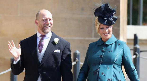 Mike and Zara Tindall have welcomed their second child (Chris Jackson/PA)
