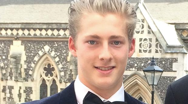 Sebastian Trabucatti has been convicted over the death of Harrow pupil Archie Lloyd (PA)