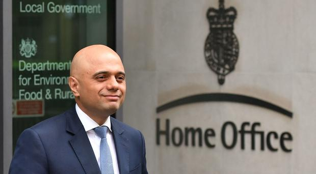 Home Secretary Sajid Javid has announced a review of the medicinal use of cannabis (Dominic Lipinski/PA)