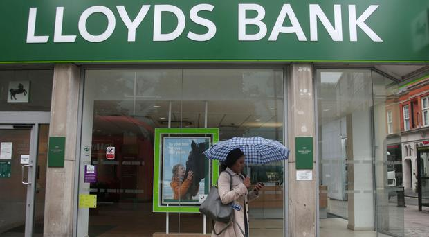 A branch of Lloyds Bank on Oxford Street, central London (PA)