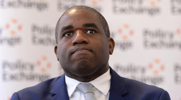David Lammy said the anniversary was bittersweet (Stefan Rousseau/PA)