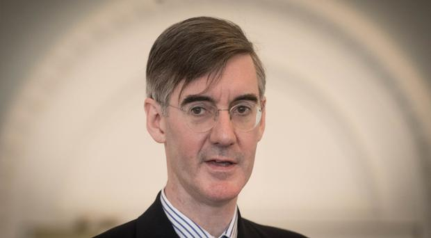 Jacob Rees-Mogg is chairman of the influential pro-Brexit European Research Group of Tories (Stefan Rousseau/PA)