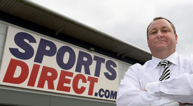 Sports Direct founder Mike Ashley was hauled in front of MPs (Joe Giddens/PA)