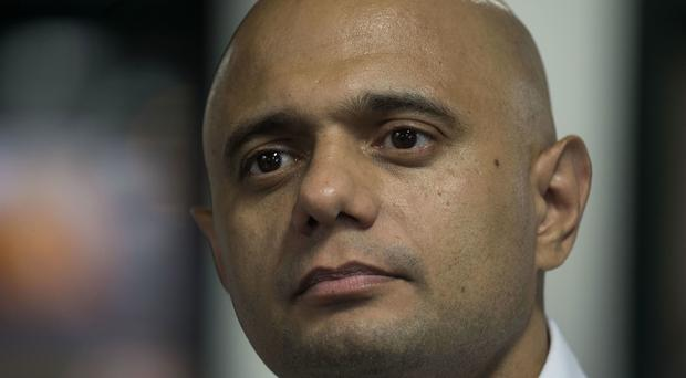 Sajid Javid has admitted problems with Apple devices on the new app for EU citizens (Victoria Jones/PA)