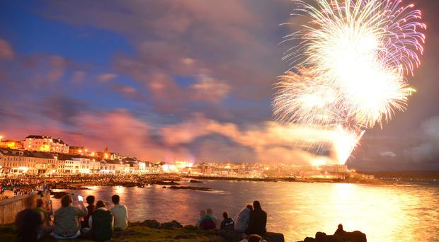 Previous entries included Watching the Fireworks in Portstewart by Glen Miles