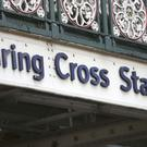 Charing Cross station in London had to be evacuated. (Philip Toscano/PA)