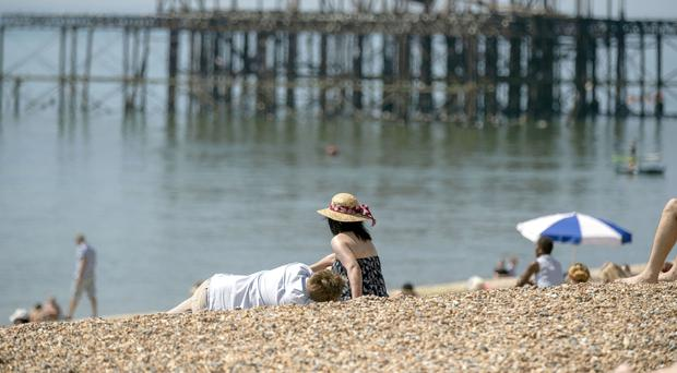 Britain is braced for a heatwave with 30C temperatures. (Steve Parsons/PA)