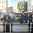 Police outside London's Charing Cross station (Jack Davies/PA)