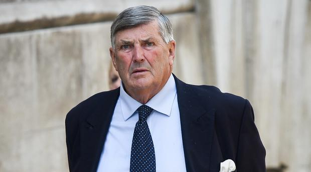 Former Royal Navy officer Charles Howeson has been jailed for seven years and six months for non-recent sexual offences against young men (Ben Birchall/PA)