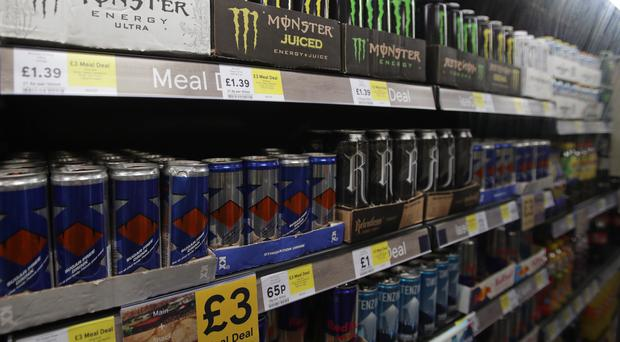 The Government is proposing an end to sales of energy drinks to children (Yui Mok/PA)
